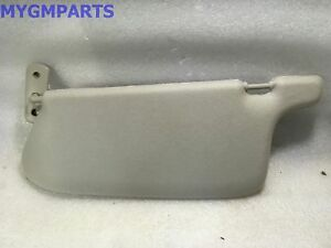 CHEVY COLORADO GMC CANYON GRAY DRIVER SIDE SUNVISOR 2006-2010 NEW ... 105f9003ce0