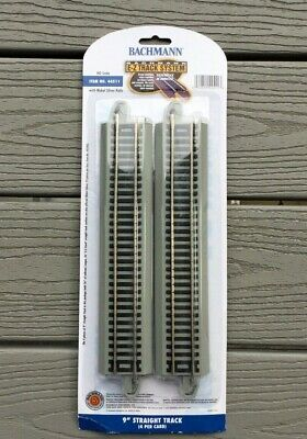 "Train Track Gray Roadbed 44511 4 Bachmann HO Nickel Silver EZ 9/"" Straight"
