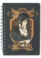 *NEW* Black Butler: Sebastian Notebook by GE Animation