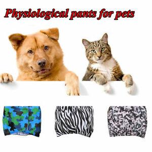 Female Male Puppy Dog Sanitary Pants Pet Washable Short Panties Diaper Underwear