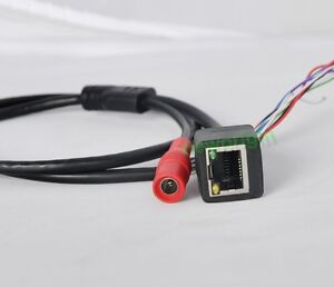 high quality cctv ip camera module network cable pigtail