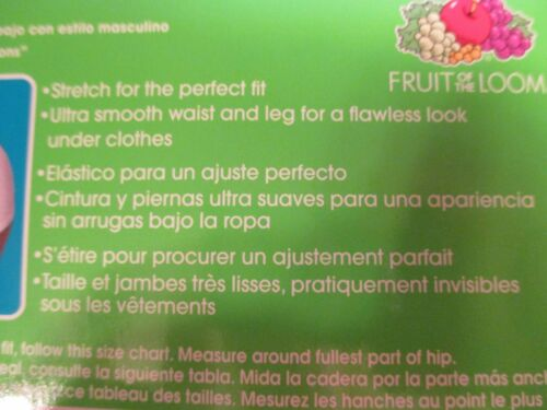 NIP FRUIT OF THE LOOM Size 6 M White Gray BOYSHORT Underwear Panties~3 Pairs