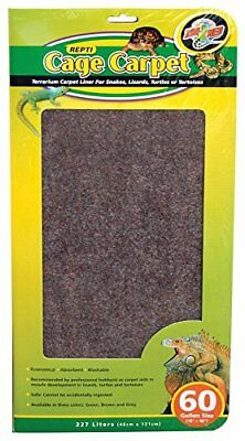 Zoo Med 26083 Repti Cage Carpet 1 Pack 18 Quot X 48