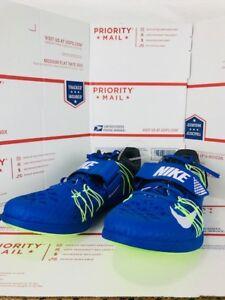 best service db90b 249c0 Image is loading Nike-Mens-Zoom-TJ-Elite-Triple-Jump-Spikes-