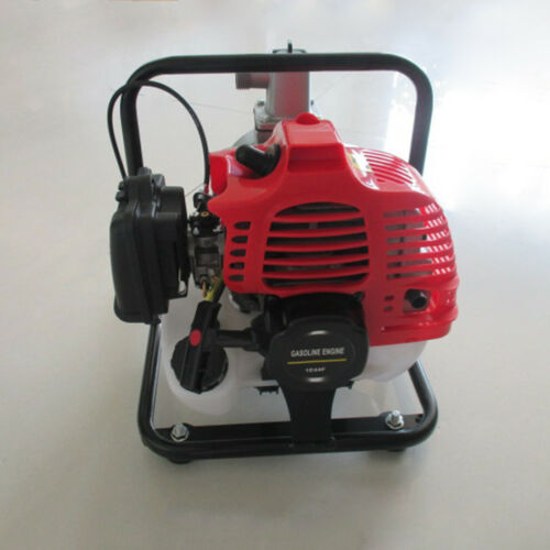 43CC 2-Stroke Water Pump Water Transfer Pump Engine Air-Cooled Gasoline 7000rmp
