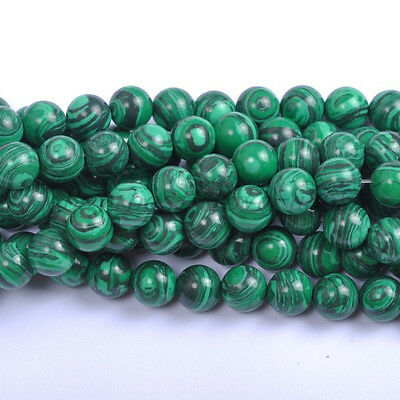 Natural Gemstone Round Spacer Loose Beads - Choose 4MM 6MM 8MM 10MM 12MM
