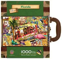 MasterPieces Florida 1000 pc Suitcase MST71360 Toys