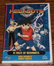 Medabots Vol. 9: A Taste of Medabots (DVD, 2003) RARE Animation DVD BRAND NEW