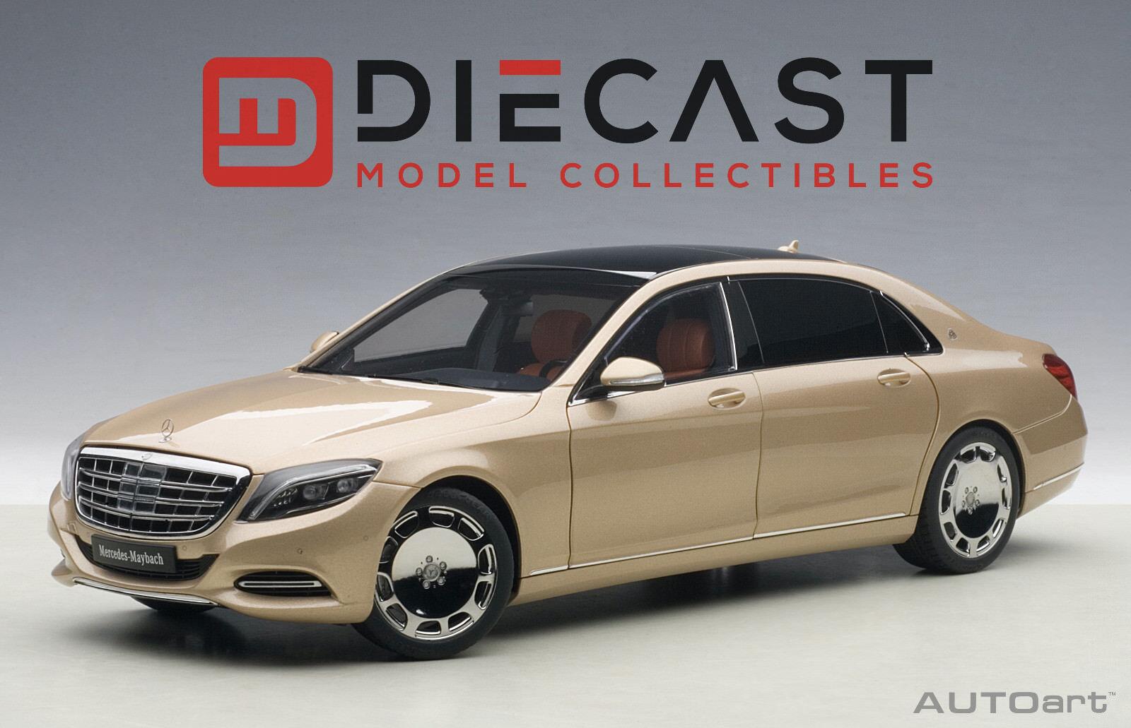 Autoart 76294 Mercedes Maybach S-Klasse, S600, 1 18TH Dorado Champagne Escala