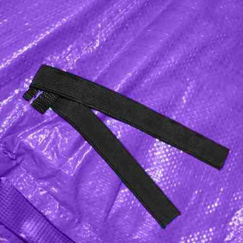 Trampoline Randabdeckung Federabdeckung Randschutz in lila für Trampolin 487 bis 490 cm