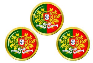 Portugais-Marine-Forcas-Armadas-Marqueurs-de-Balles-de-Golf
