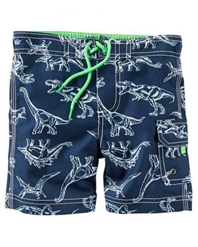Carter/'s Infant Boys/' Navy Dino Print Swim Short Size 12M 18M 24M $24