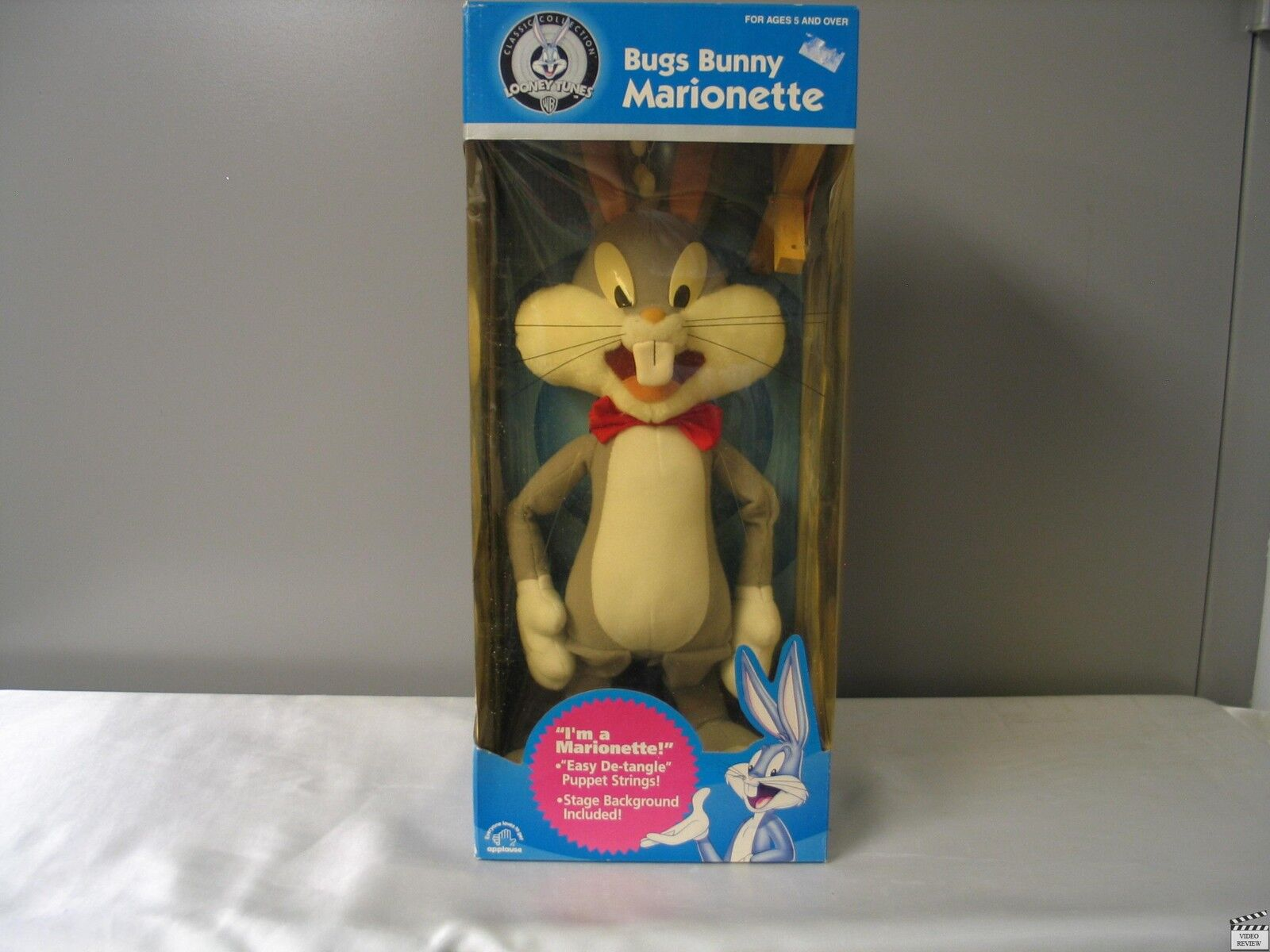 Bugs Bunny Marionette  Faded Plastic  Applause Looney Tunes Tunes Tunes 26a4bc