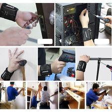 4 Magnetic ANNKE Wristband Pocket Tool Belt Pouch Bag For Screws Holding Repair