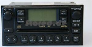 Toyota CD-radio 58805 radio del coche Avensis Verso camry Celica previa mr2 rav4