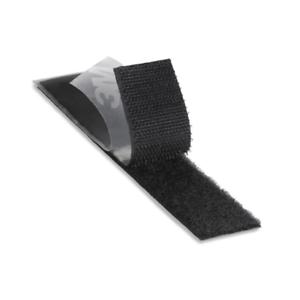 3M Reclosable Fastener,3 In x 5 ft,Black SJ3000 Black