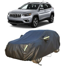 Peva Waterproof Full Suv Cover Car Outdoor Protection Snow Uv For Jeep Cherokee Fits Jeep