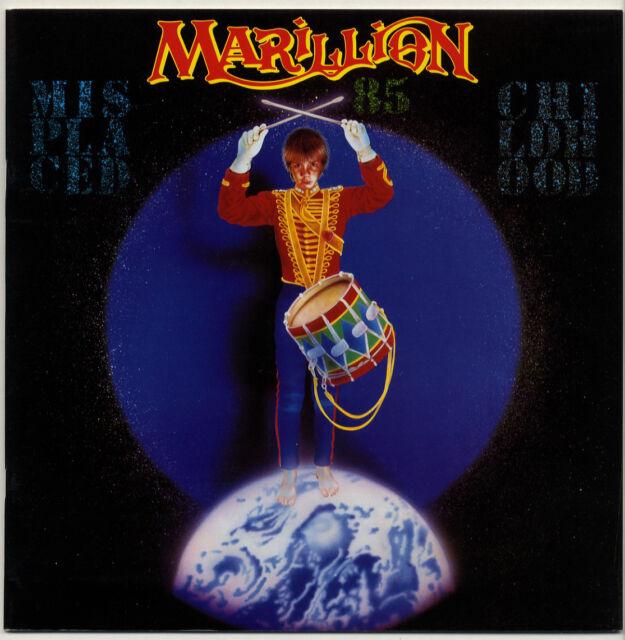 MARILLION 1986 Misplaced Childhood 28 page concert tour programme + 2 postcards