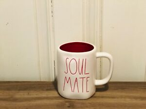 Rae-Dunn-Valentine-039-s-Day-By-Magenta-SOUL-MATE-Farmhouse-Red-Interior-Mug