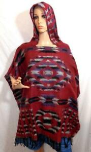 etnico dall'India Hippy coperta Trade Poncho Festival Boho pile in New Fair nvYEwqnO
