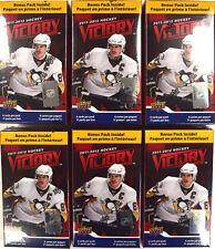 2011-12 11-12 Upper Deck Victory Factory Sealed Hockey Blaster Box - LOT OF 6
