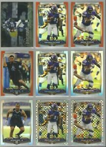 Minnesota-Vikings-9-card-2014-Topps-Chrome-insert-amp-REFRACTORS-XFRACTORS-lot
