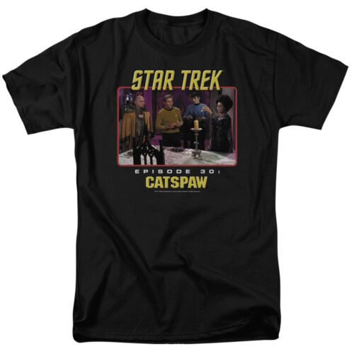 Star Trek Original Cat/'s Paw TV Show T-Shirt Sizes S-3X NEW