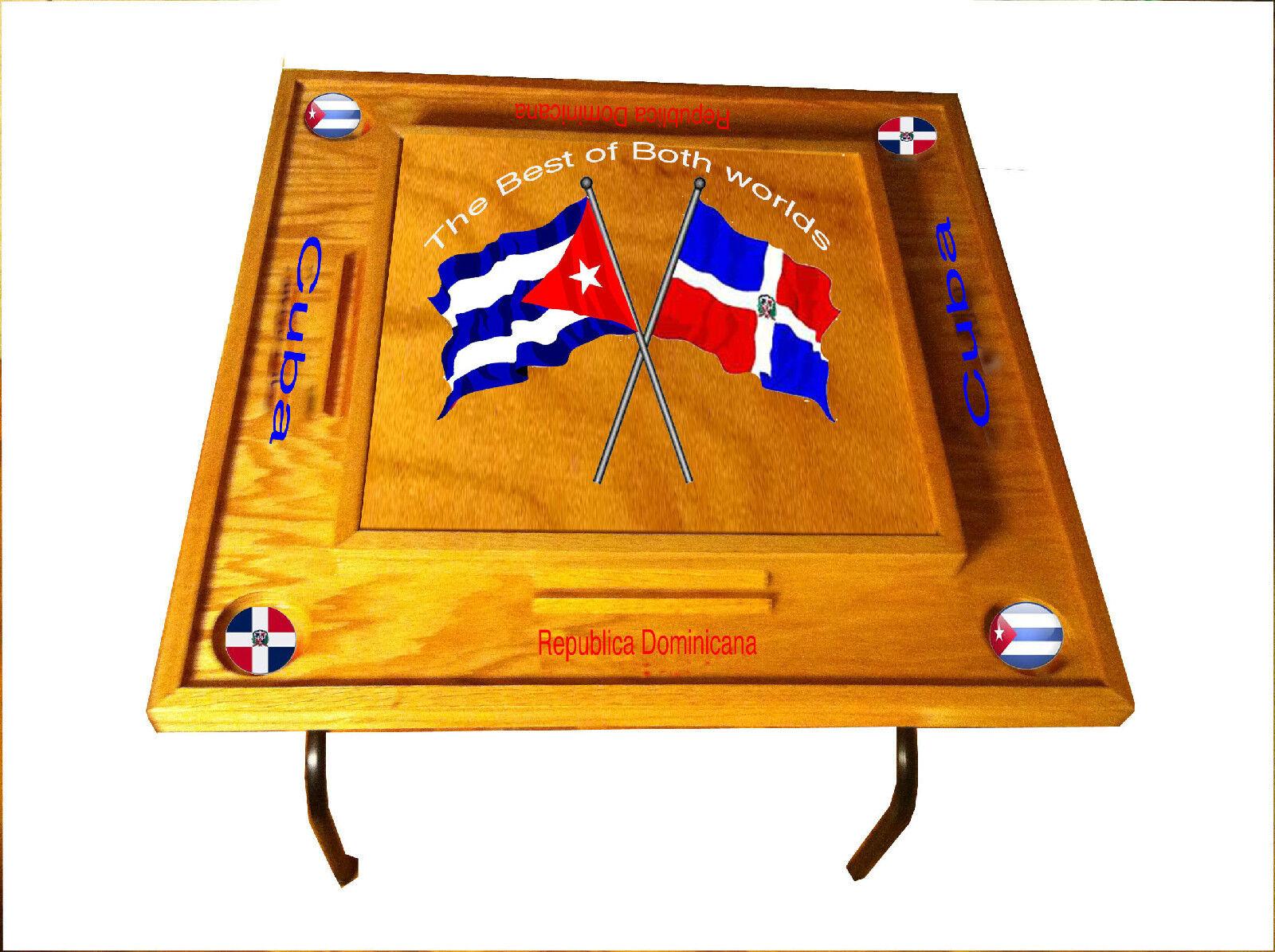 República Dominicana & Mesa De Domino De Cuba