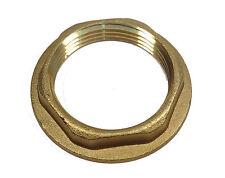 1-1/4 Inch BSP Brass Flanged Back-nut | Bathroom Wash Hand Basin Waste Size