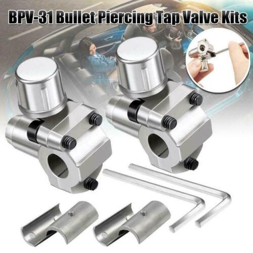 1PC Bullet Piercing Valve Line Tap Bpv31 Hvac Parts Refridgerator Part Seal D9Z1