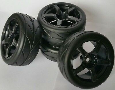 Wheels, Tires, Rims & Hubs Cheap Price 1/10 Rc Car On Road/touring Wheels & Tyres 5 Spoke X4 Ideal Gift For All Occasions