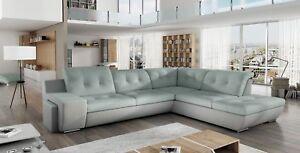 Universum a Lux Divano ad Angolo con Funzione Sleep Comfort Moderno ...