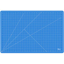 """24"""" x 36"""" PINK/BLUE Self Healing 5-Ply Double Sided Durable PVC Cutting Mat"""