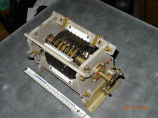 QRO Roatry Variable Coil. Variable inductor used in antenna matching to ca.3kW