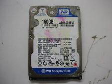 """WD Scorpio Blue 160gb WD1600BEVT-00A23T0 2061-771672-F04 AA  2,5"""" SATA"""
