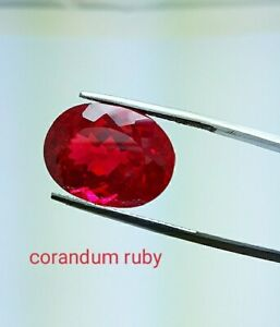 Details about 26.50ct RARE BEAUTIFUL RED PIGEON BLOOD RUBY OVAL 15X20mm