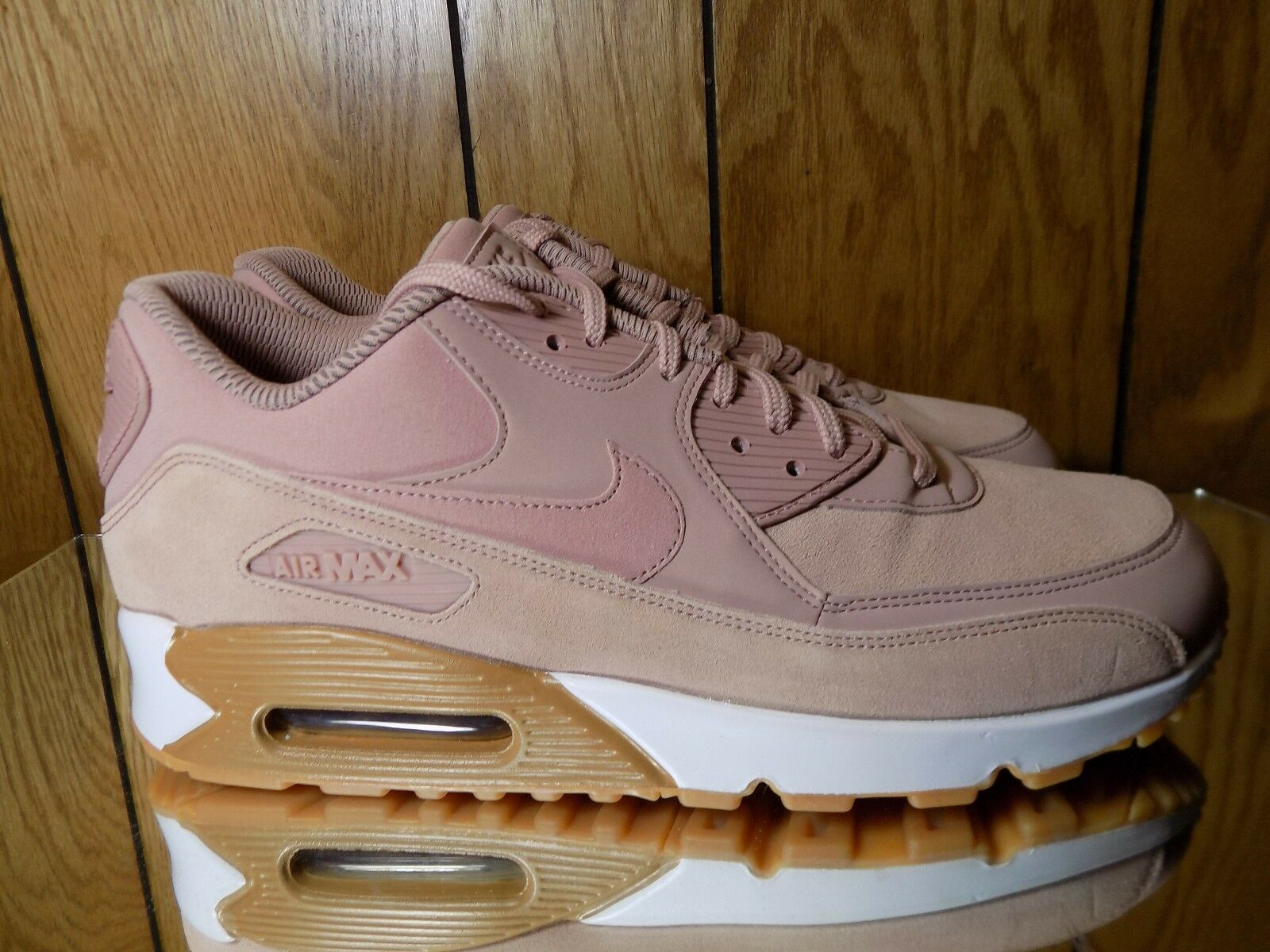 Nike SE WMNS Air Max 90 SE Nike lifestyle sneakers NEW pink brown 881105-601 s. 10.5 b1ae65