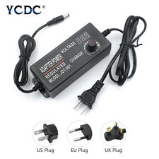 New Listingacdc Power Supply Adapter Adjustable 3 12v 5a 60with9 24v 3a 72w Volt Display 53