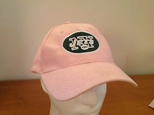 2482989a23bc5 New York Jets Reebok Pink Hat Green Logo NFL Women s Ladies ...