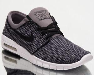 7f7ffd956f5 Nike SB Stefan Janoski Max Mens New Shoes Men Grey Black White Kicks ...
