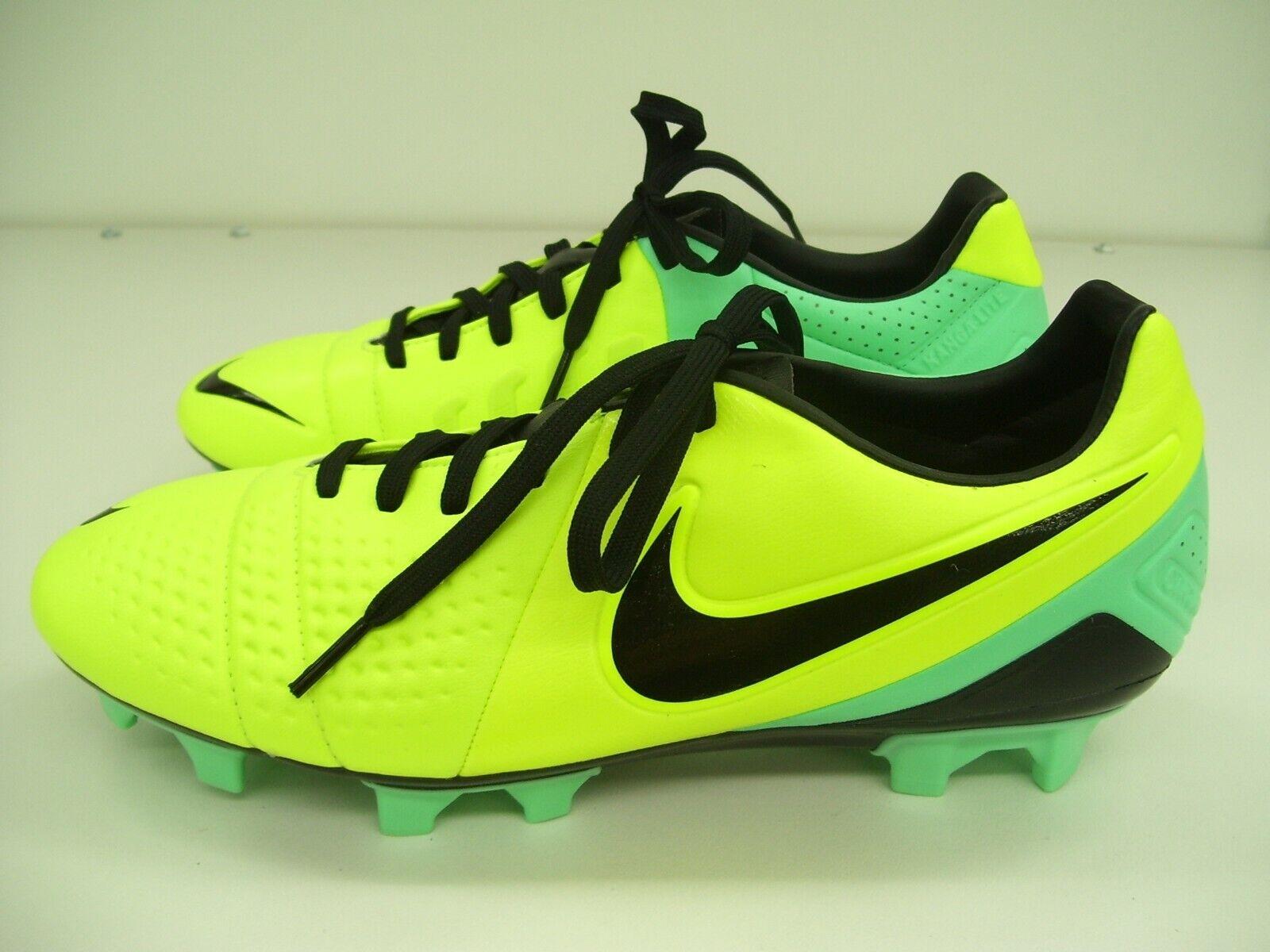 NIKE MENS SOCCER FOOTBALL bottes CTR360 TREQUARTISTA III vert GLOW US 7.5