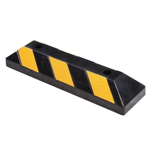 "Garage Car Parking Curb Wheel Stopper Driveway Rubber Guide Block 22/"" 36/"" 72/"""