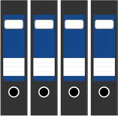 4 Ordner Etiketten Rücken-schilder selbstklebend Aktenrücken kurz breit Neu 5