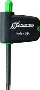 Bondhus 34410 T10 Star Tip Flag Handle Driver with ProGuard Finish 2 Piece
