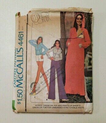 Pants Top Shorts  Sewing Pattern McCall/'s 3940 Misses/'//Miss P Maternity Dress