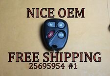 OEM FACTORY GM GMC KEYLESS ENTRY REMOTE FOB TRANSMITTER KOBLEAR1XT 25695954 #1