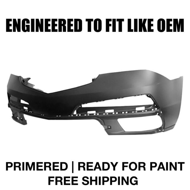 Fits 2010 2011 2012 2013 Acura MDX Front Bumper PRIMERED