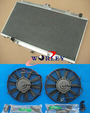3 ROW For NISSAN PATROL Y61 GU 2.8 / 3.0 TD 97 ALUMINUM RADIATOR AT + FANS