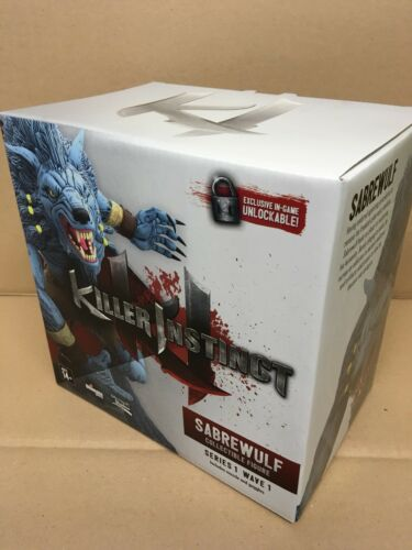 """Ultimate Source Killer Instinct Series 1 SABREWULF 6/"""" Collectable Figure *NEW*"""