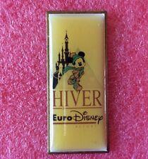 Pins Walt Disney EURODISNEY Hiver Mickey Mouse Patin A Glace